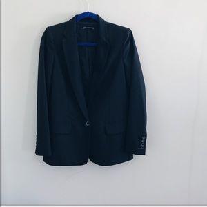 Black oversized Zara blazer size small